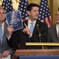 House Speaker Paul D. Ryan on Tuesday presented the American Health Care Act, a proposed Obamacare replacement plan that he was confident the House would approve. (Associated Press)