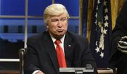 "This Feb. 4, 2017, file photo released by NBC shows Alec Baldwin portraying President Donald Trump in the opening sketch of ""Saturday Night Live,"" in New York. (Will Heath/NBC via AP, File)"