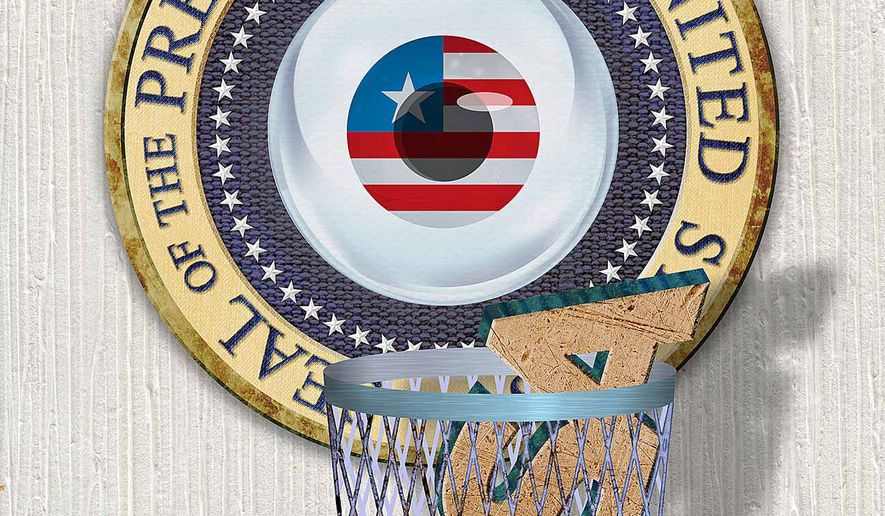 No Need for FISA Court Illustration by Greg Groesch/The Washington Times
