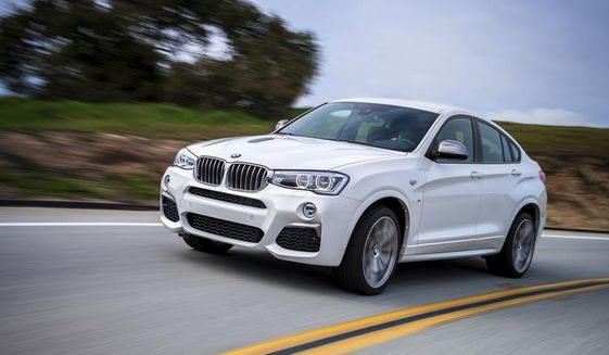 For front passenger comfort, performance and a sexy design, the 2017 BMW X4 is a hit all around. (Photo courtesy of BMW)
