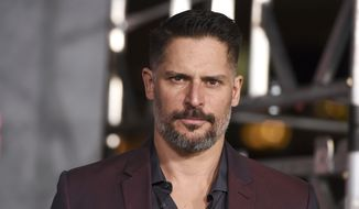 """Joe Manganiello arrives at the Los Angeles premiere of """"Kong: Skull Island"""" at the Dolby Theatre on Wednesday, March 8, 2017. (Photo by Jordan Strauss/Invision/AP)"""