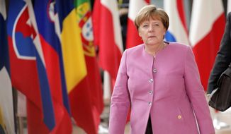 German Chancellor Angela Merkel, the longest-serving democratically elected leader in western Europe, will meet this week with President Trump, who officials say is interested in listening to her ideas. (Associated Press) ** FILE **