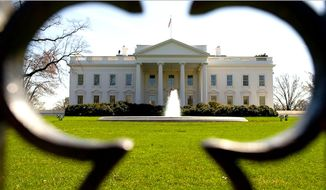 The White House exterior. (AP Photo)