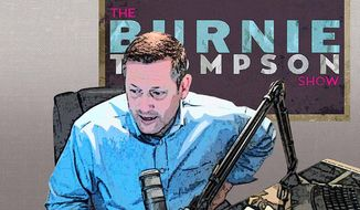 The Burnie Thompson Show Illustration by Greg Groesch/The Washington Times