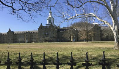 This March 11, 2017 photo shows The Trans-Allegheny Lunatic Asylum in Weston, W.Va. (S.M. Christman via AP)