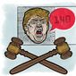 Trump Claims of Eavesdropping of His Campaign Illustration by Linas Garsys/The Washington Times