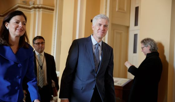 Despite Democrats' promise to stump Supreme Court Justice nominee Neil Gorsuch after Republicans hamstrung former President Barack Obama's pick, they have been unable to block the nominee. (Associated Press)