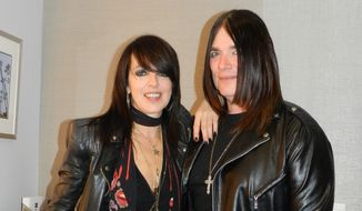 "Nena (left), the singer of ""99 Luftballons.""  (Marivi Valcourt)"