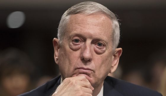 The Pentagon pushed back against reports that an aggressive string of recent U.S. military sorties have killed hundreds of civilians in Iraq and Syria. Defense Secretary James Mattis reportedly has been weighing a loosening of restrictions on U.S. airstrikes that the Obama administration kept in place in war against the Islamic State in Iraq, current and former U.S. officials have said. (AP Photo/J. Scott Applewhite, File)