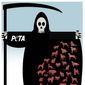 Illustration on PETA's euthanizing of animals by Alexander Hunter/The Washington Times