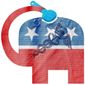 Obamacare Stain on the GOP Illustration by Greg Groesch/The Washington Times