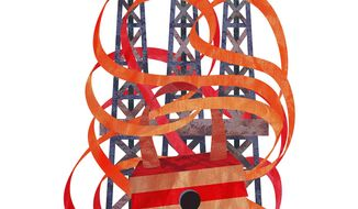 Energy Industry Red Tape Illustration by Greg Groesch/The Washington Times