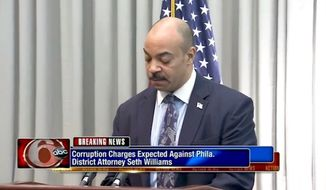 Philadelphia District Attorney Seth Williams faces more than 20 counts of federal corruption charges. (ABC-6 Philadelphia)