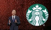 Starbucks CEO Howard Schultz speaks at Starbucks annual shareholders meeting Wednesday, March 22, 2017, in Seattle. (AP Photo/Elaine Thompson)
