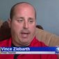 Vince Ziebarth, a Chicago high school teacher, isn't making any apologies after he says he was fired for refusing to teach a student who sat out the Pledge of Allegiance. (CBS Chicago)