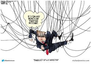 Tangled up in a wiretap