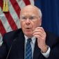 U.S. Senator Patrick Leahy of Vermont speaks at a press conference in the United States Embassy in Havana, Cuba, Wednesday, Feb. 22, 2017. The U.S. delegation is on a visit to Cuba and met Tuesday with Cuba's President Raul Castro. (AP Photo/Desmond Boylan) (Associated Press)