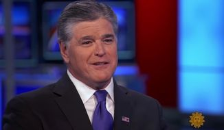 "Fox News host Sean Hannity is demanding CBS News release his entire interview with veteran journalist Ted Koppel on ""Sunday Morning,"" after Mr. Koppel said Mr. Hannity's show was ""bad for America."" (CBS News)"