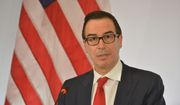 Treasury Secretary Steven T. Mnuchin said that hedge funds should be taxed, but that the Trump administration would tread carefully in planning to do so. (Associated Press)