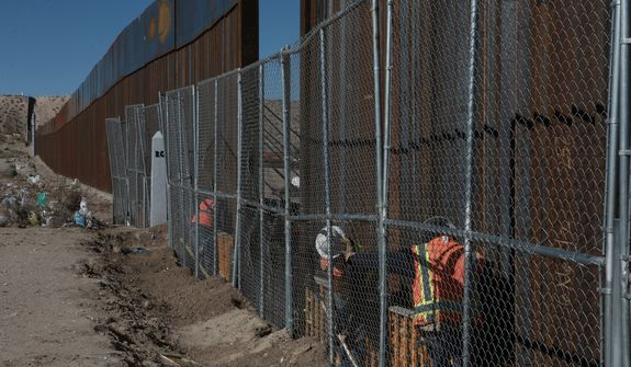 Two cities in California have already adopted rules saying that any company that helps build President Trump's border wall will no longer be allowed to do business there. Despite such pledges, contractors nationwide are lining up to bid on the project. (Associated Press)