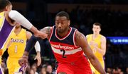 Three of Washington Wizards guard John Wall's top six scoring games this season have been in March, including 34 points and 14 assists in a win over the Los Angeles Lakers on Tuesday. It was the fifth time this season that Wall has eclipsed 30 and 10. (Associated Press)