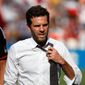 "D.C. United coach Ben Olsen said ""there's certainly no panic button around here"" despite his team's 0-2-1 start. (Associated Press)"