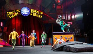 Ringling Bros. and Barnum & Bailey Circus, which started in 1871, is making its final trip to the District this weekend as part of its farewell tour. Falling attendance and competing entertainment are blamed for its decline. (Associated Press)