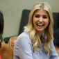 Having first daughter Ivanka Trump in the White House shepherding policy to empower women in the workplace or advising her father, as she did throughout the campaign, has hit a nerve with both members of the left and the general public. (Associated Press)