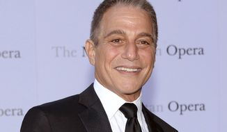 "FILE - In this Sept. 22, 2014 file photo, Tony Danza attends the Metropolitan Opera 2014-15 season opening production of Mozart's ""Marriage of Figaro"" at Lincoln Center in New York. On Friday, March 31, 2017, Danza called in to the weekly radio show of New York City Mayor Bill de Blasio to lament the high rents that are strangling neighborhood businesses like the cheese shop Danza co-owns. (Photo by Evan Agostini/Invision/AP, File)"