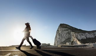 "Few have as much directly at stake in negotiations over Britain's exit from the European Union as the Gibraltarians. Last year, 95 percent of of them voted in favor of staying in the EU out of fear that they could be left at the mercy of Spanish designs to impose its sovereignty on ""The Rock."" (Associated Press/File)"