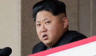 Kim Jong-un (Associated Press) ** FILE **