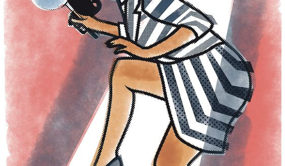 Illustration on Susan Rice by Linas Garsys/The Washington Times