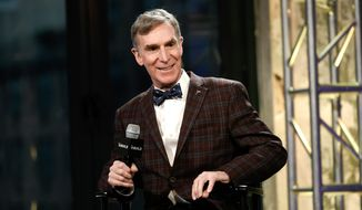 "Bill Nye, the Science Guy's prominent role in the March for Science has igniting a furious debate on race, gender and ""privilege."" (Associated Press)"