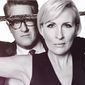 "MSNBC's ""Morning Joe"" hosts Mika Brzezinski and Joe Scarborough pose for a photo shoot put together by The Hollywood Reporter. (Image: The Hollywood Reporter video screenshot)"
