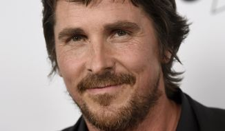 """Christian Bale arrives at the U.S. premiere of """"The Promise"""" at the TCL Chinese Theatre on Wednesday, April 12, 2017, in Los Angeles. (Photo by Chris Pizzello/Invision/AP)"""