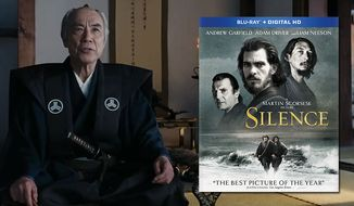 "Issey Ogata is the Inquisitor in ""Silence,"" now available on Blu-ray from Paramount Home Entertainment."