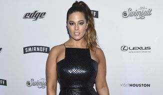 Model Ashley Graham attends the Sports Illustrated Swimsuit 2017 launch event at Center415 on Thursday, Feb. 16, 2017, in New York. (Photo by Evan Agostini/Invision/AP)