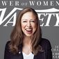 "Chelsea Clinton appears on the Variety magazine's ""Power of Women"" issue for April 2017. (Twitter, Claudia Eller, Variety Co-Editor-in-Chief)"
