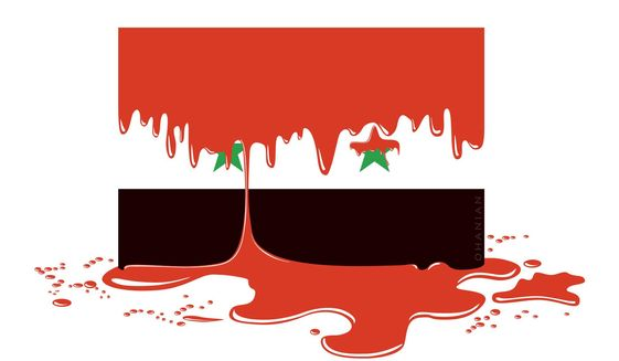 Illustration on the Syrian conundrum by Nancy Ohanian/Tribune Content Agency