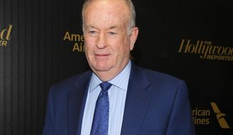 """FILE - In this April 6, 2016 file photo, Bill O'Reilly attends The Hollywood Reporter's """"35 Most Powerful People in Media"""" celebration in New York.  O'Reilly has lost his job at Fox News Channel following reports that five women had been paid millions of dollars to keep quiet about harassment allegations. 21st Century Fox issued a statement Wednesday, April 19, 2017, that """"after a thorough and careful review of the allegations, the company and Bill O'Reilly have agreed that Bill O'Reilly will not be returning to the Fox News Channel.  (Photo by Andy Kropa/Invision/AP, File)"""