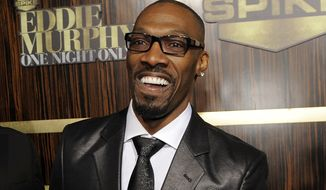 """In this Nov. 3, 2012, file photo, comedian Charlie Murphy appears at """"Eddie Murphy: One Night Only,"""" a celebration of Murphy's career in Beverly Hills, Calif. Comedian Cedric the Entertainer said on Instagram that Murphy was laid to rest April 19, 2017, a week after his death following a battle with leukemia. (Photo by Chris Pizzello/Invision/AP, File)"""