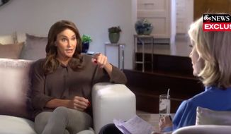 Caitlyn Jenner sat down with Diane Sawyer of ABC News for an interview set to air Friday, April 21, 2017. (Twitter, ABC News screenshot)