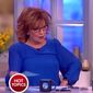 "Joy Behar of ""The View"" likened Sarah Palin's visit to the The White House to the War of 1812 during a broadcast on Friday, April 21, 2017. (ABC screenshot)"