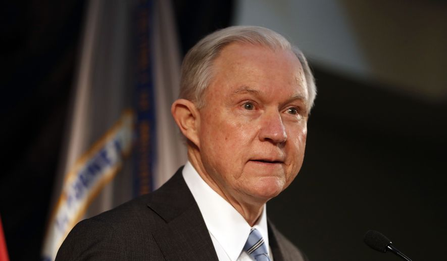Under Attorney General Jeff Sessions, the Justice Department has worked arm in arm with the Department of Homeland Security to cover the most ground when it comes to implementing the Trump administration's priorities. (Associated Press/File)