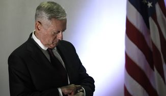 James Mattis is the secretary of defense. Last week his department launched the Nuclear Posture Review. The review, a comprehensive reassessment of U.S. nuclear weapon policy and the capabilities needed to execute them will take months to complete. (Jonathan Ernst/Pool via AP)