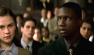 Anna Paquin (left) and Rob Brown (right) star in movie Finding Forrester released in 2000. (Columbia Pictures movie trailer, Finding Forrester) ** FILE **