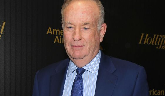 """Bill O'Reilly attends The Hollywood Reporter's """"35 Most Powerful People in Media"""" celebration in New York, April 6, 2016. (Photo by Andy Kropa/Invision/AP) ** FILE **"""
