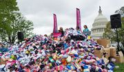 Pro-life demonstrators deliver nearly 200,000 pairs of baby socks Wednesday to the U.S. Capitol as a public demonstration aimed at encouraging Congress to defund Planned Parenthood, the nation's largest abortion provider. (Students for Life of America) ** FILE **