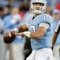 North Carolina quarterback Mitch Trubisky was chosen by the Chicago Bears with the second overall pick in the NFL draft on Thursday night. (Associated Press)