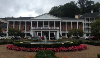 Omni Bedford Springs Resort.  (Eric Althoff/The Washington Times)